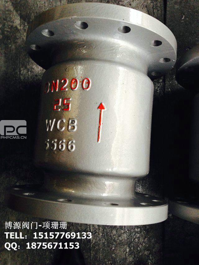 铸钢立式止回阀